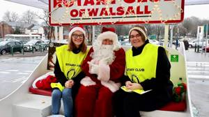 Heart Care Santa Sleigh Event