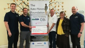 Kate Plimmer Foundation Heart Care Cheque