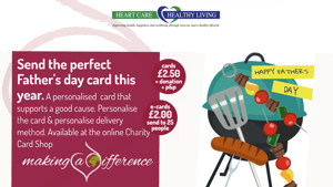 Heart Care Charity Cards